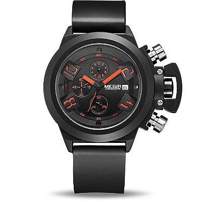 Relógio Megir BlackOrange