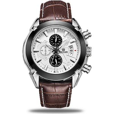 Relógio masculino Megir Chronometer