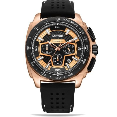 Relógio masculino Megir Speedometer