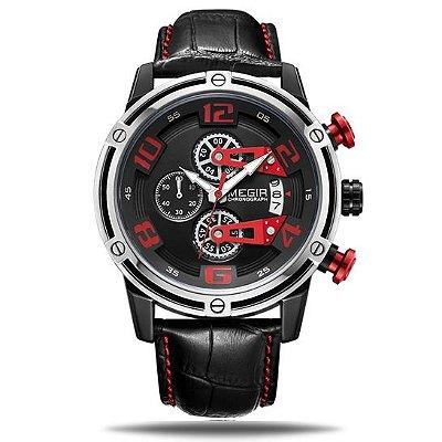 Relógio masculino Megir Drehung