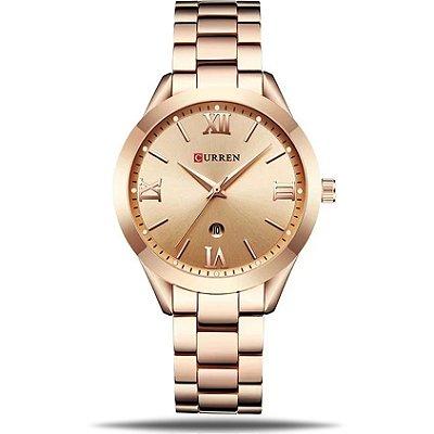 Relógio feminino Curren Cleópatra