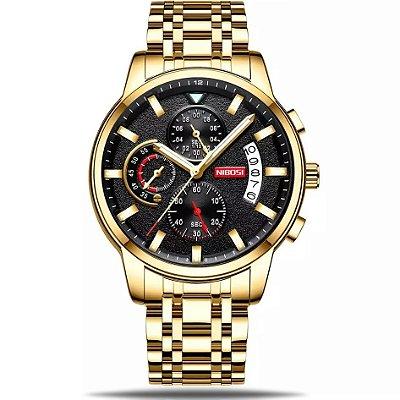 Relógio masculino Nibosi Faraó