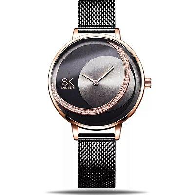 Relógio feminino Shengke Night