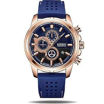 Relógio masculino Megir Submarine