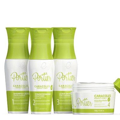 Portier Caracoles Kit Completo (4 produtos)