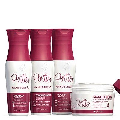 Portier Manutenção After Care - Kit Completo (4 produtos)