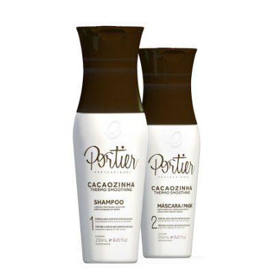 Portier Cacaozinha Thermo Smoothing - Kit Duo 250ml