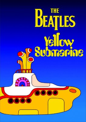 Pôster Beatles Yellow Submarine
