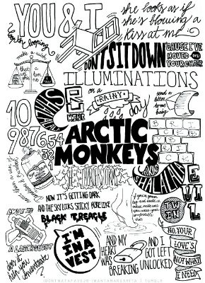 Pôster Arctic Monkeys