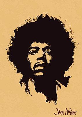 Pôster Jimi Hendrix