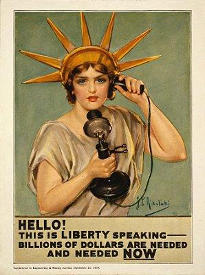 Pôster Liberty Speaking
