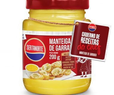 Manteiga de Garrafa no pote 200g