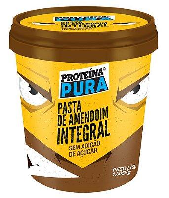 Pasta de amendoim integral sem açúcar Proteína Pura 1,005kg