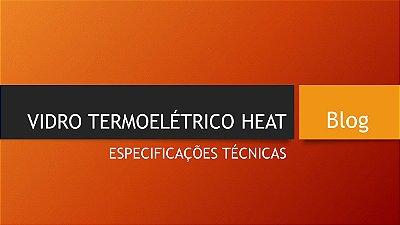 TECNOLOGIA DO VERDADEIRO VIDRO TERMOELÉTRICO