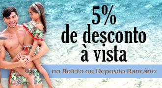 5% à vista no Boleto