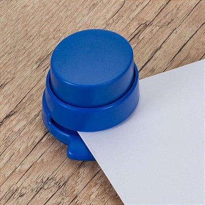 Grampeador ecológico plástico, não utiliza grampos. SK 12146