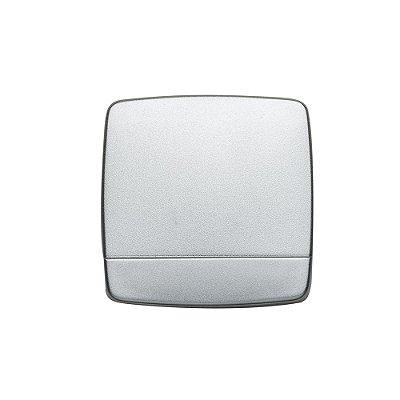 Espelho quadrado duplo sem aumento, material em plástico resistente. Código SK 2634