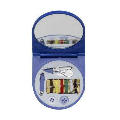 Kit para costura plástico com espelho parte com revestida com espuma. Código SK 12911