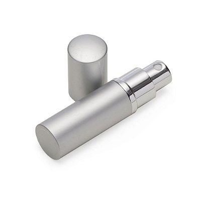 Porta perfume 8ml de metal, frasco acrílico pode ser removido do estojo. Código SK 7835