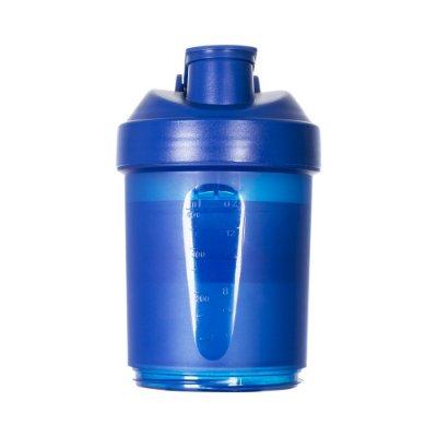 Coqueteleira 400ml plástica porta suplementos desmontável.  Código SK 12783