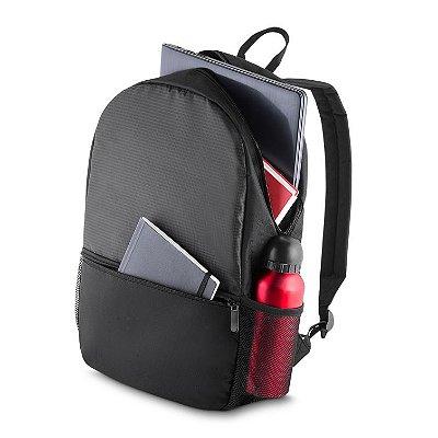 Mochila p/ NoteBook • Tamanho: 43cm x 30cm x 11cm • Tecido poliéster. Cód. SKMC211
