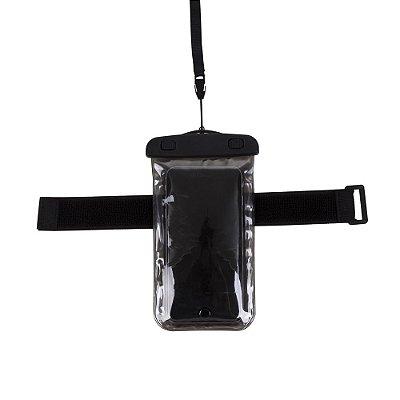 Case impermeável universal para smartphones com cordão. Cód. SK13136