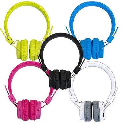Headfone wireless colorido. cod. SK 13475