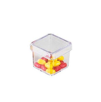 Caixinha plástica cristal, Embalagem Caixinha Mod.: 01