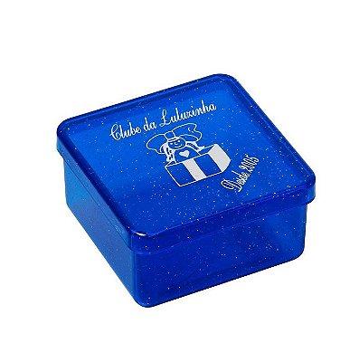Embalagem Caixinha plástica cristal, Mod.:04