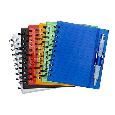 Bloco de anotações com caneta. Cód. SK 11193
