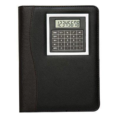 Bloco de anotações com calculadora. Cód. SK 12524