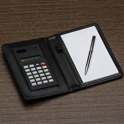 Bloco de anotações com calculadora. Cód. SK 11948