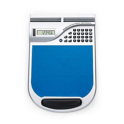 Mouse Pad com Calculadora Solar. Cód. SK 3508