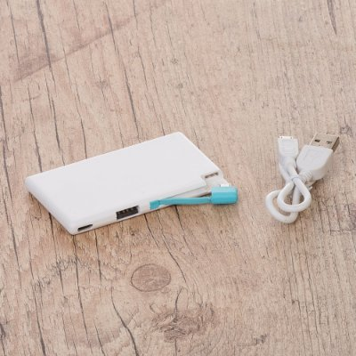 Power Bank Cartão Slim. Cód. SK 13277