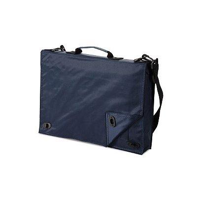 Pasta multifunções. 70D. Com diversos bolsos para documentos no interior e alça de ombro. Cód.SPCG32154