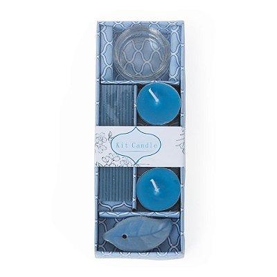 Kit aromatizante com 6 peças em estojo de papel com tampa plástica. Cód.SK13758