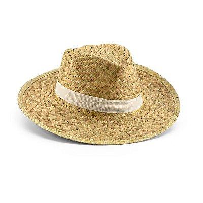 Chapéu panamá. Palha natural. Fita não inclusa. Cód.SPCG99419
