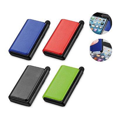Suporte para celular. PS. Com ponteira touch e limpador de tela. Cód. SPCG37400