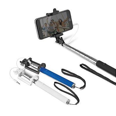 Bastão de selfie. PVC e aço inox. Cód.SPCG97074
