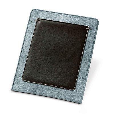 Bolsa para tablet. Feltro e c. sintético. Para tablet 10.1''. Interior forrado. Cód.SPCG92353