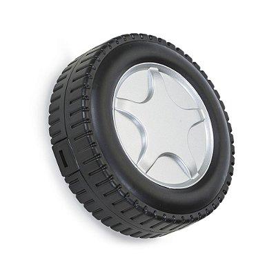 Kit ferramenta 20 peças com estojo formato pneu em plástico resistente. Cód.SK13349