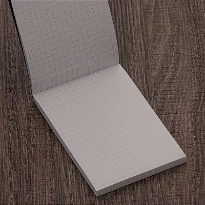 Bloco de Anotação com Folhas Quadriculadas. Cód. SK 13949