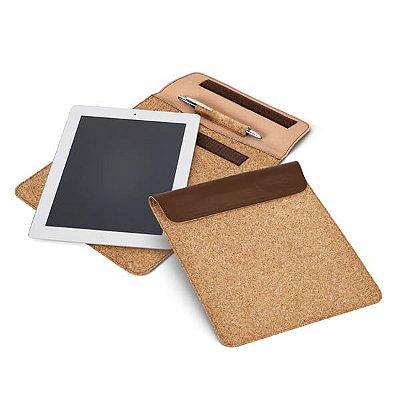 Bolsa para tablet.  Cortiça e c. sintético. Cód.SPCG92278
