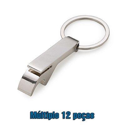 Chaveiro Abridor Metal. Cód. SK 13506