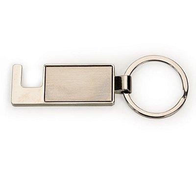 Chaveiro Metal Porta Celular. Cód. SK 13405