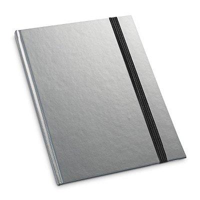 Caderno capa dura.  Com 80 folhas pautadas. Cód.SPCG93475