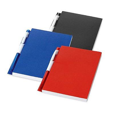 Caderno. Com 100 folhas pautadas.  Incluso esferográfica. Cód.SPCG33400