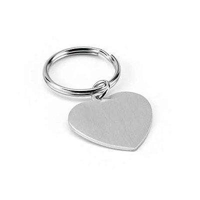 Chaveiro coração. Alumínio. Cód.SPCG93159