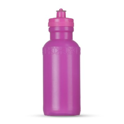 Squeeze 500 ml de plástico resistente de corpo branco e tampa colorida, de bico (silicone) SK07092 COL