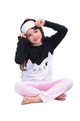 Pijama Gatinha Danada
